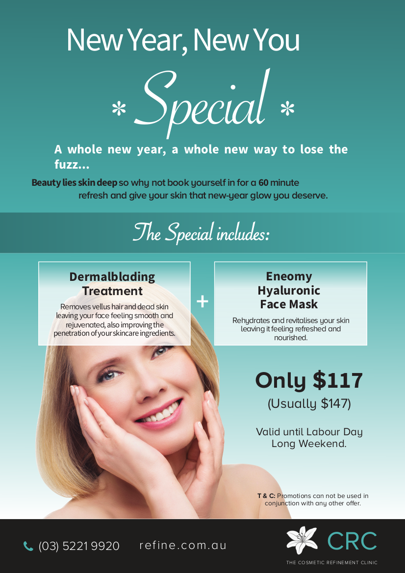 New Year, New You Special_Dermalblading & FaceMask Feb 2020